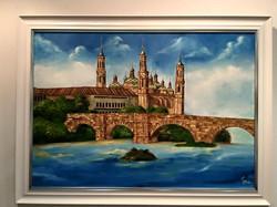 Facebook - Excelente lienzo al óleo realizado por Silvia Usan con tan solo 15 añ