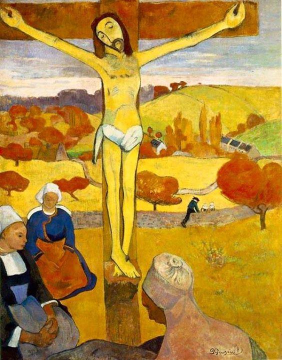 """Facebook - """"El Cristo amarillo """" de Paul Gauguin realizada 1889 pieza clave del"""