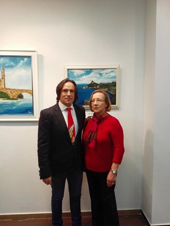 Facebook - Con María Sebastián y su obra