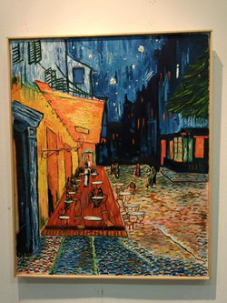 """Facebook - Una buena reproducción del """" café de nuit"""" de Van Gogh realizado por"""