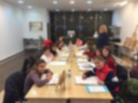 Clases de pinitura para niños arte zappa