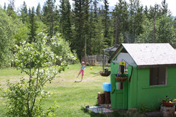 The play cabin.