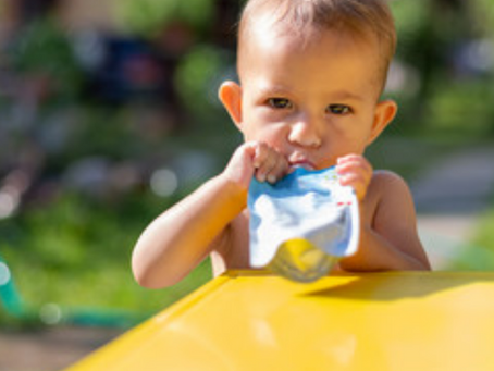 What a Dietitian-Mom Has to Say About Baby Food Pouches