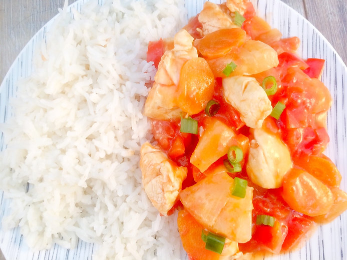 Sweet and Sour Chicken - Baby-Led Weaning (BLW)