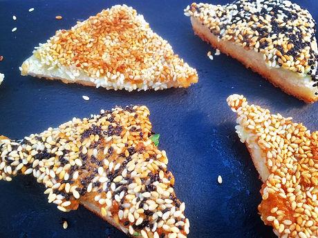 Sesame Prawn Toasts - Baby-Led Weaning (BLW)