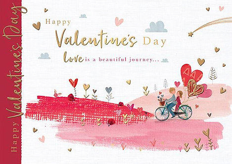 Happy Valentines Day Love is a beautiful journey