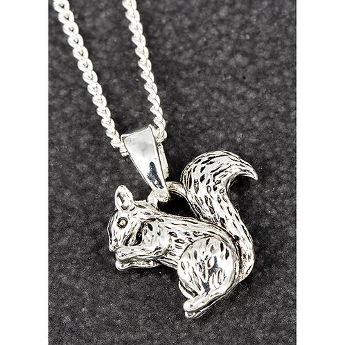Equilibrium Silver Plated Squirrel Necklace Boxed FREE POSTAGE
