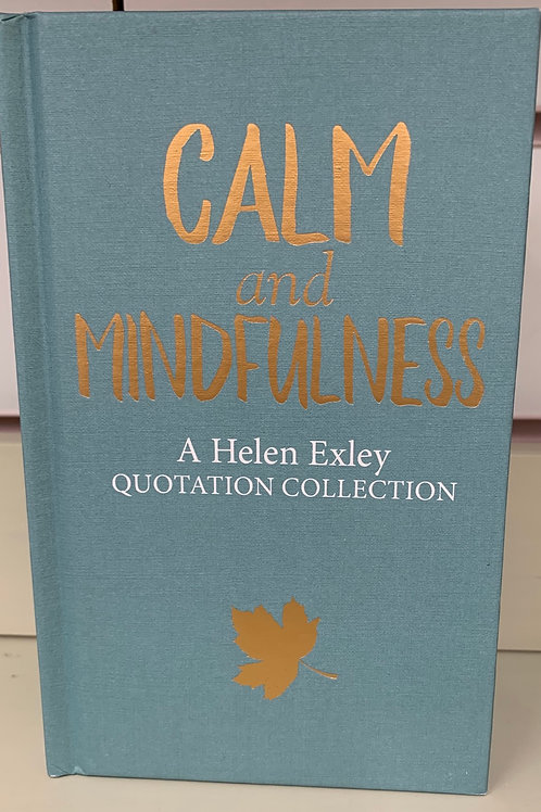 Calm And Mindfulness Quotation Collection Book