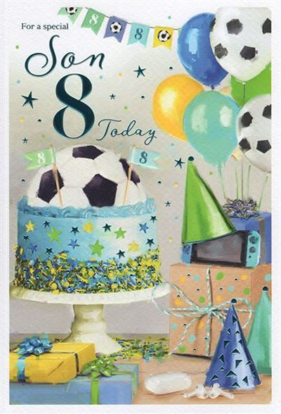 For a special Son 8 Today