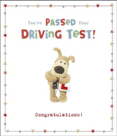 You've Passed Your Driving Test Congratulations