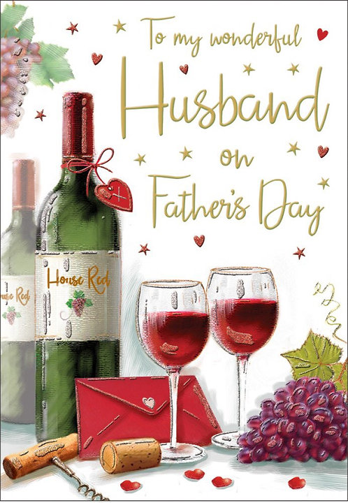 To my wonderful Husband on Father's Day