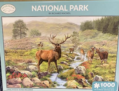 National Park 1000 piece jigsaw by Richard Macneil