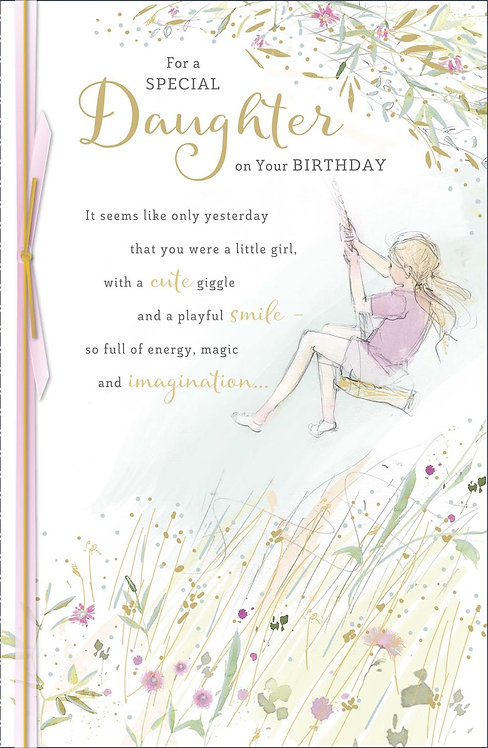 For a special Daughter on your Birthday