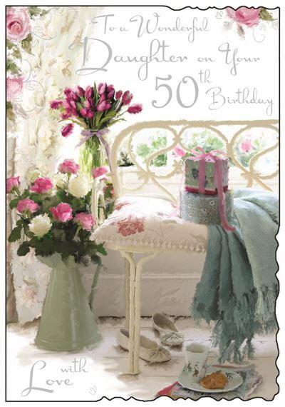 Daughter 50th Birthday card