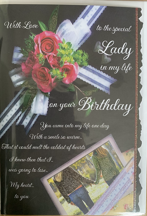 With Love To The Special Lady In My Life On Your Birthday