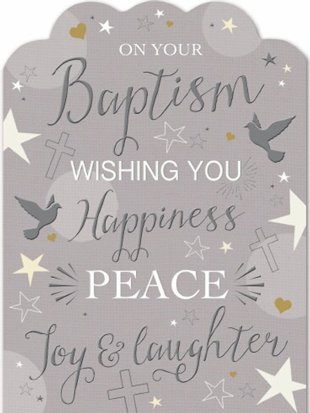 Baptism Card Suitable for Male & Female