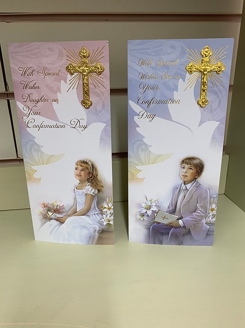 Daughter / Son On Your Confirmation Day Card Boxed