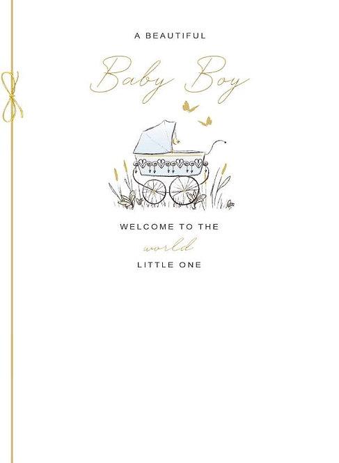 A Beautiful Baby Girl /Boy Birth Card
