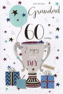 Grandad 60th Birthday Card