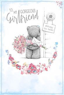 To my gorgeous Girlfriend Birthday Card