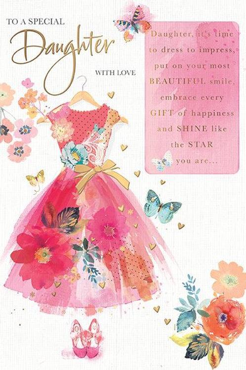 Daughter Birthdy Card