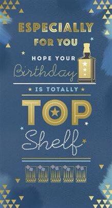 Male Open Birthday Card