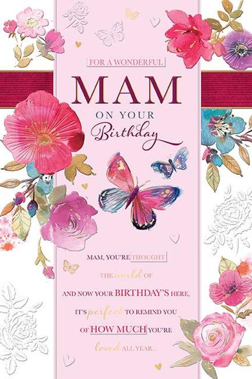 For a wonderful Mam birthday card