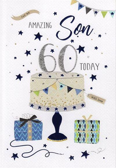 Son 60th Birthday Card