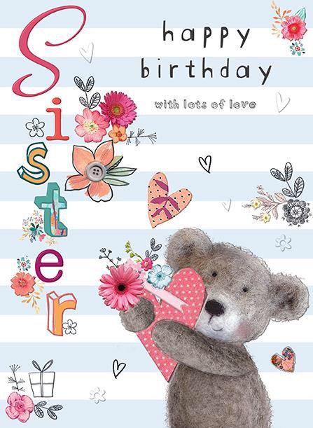 Sister Birthay Card