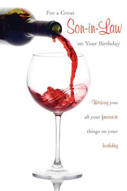 For a Great Son-in-law On Your Birthdy