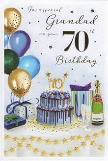 Grandad 70th Birthday
