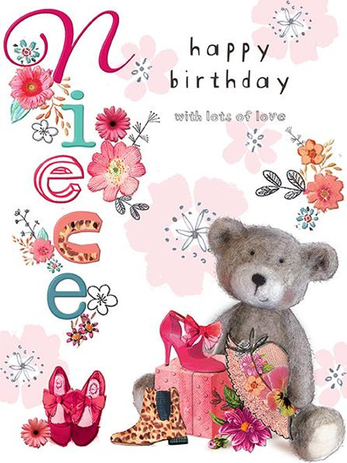 Happy birthday Niece card