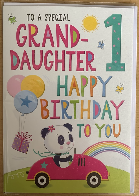 To a special Granddaughter 1