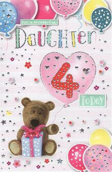 For a wonderful Daughter 4 today