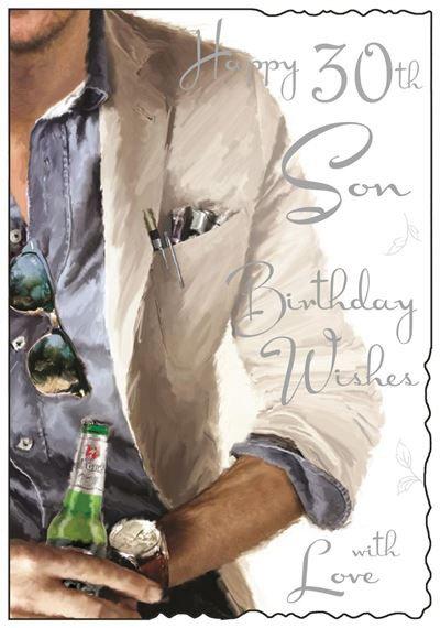 Son 30th Birthday Card