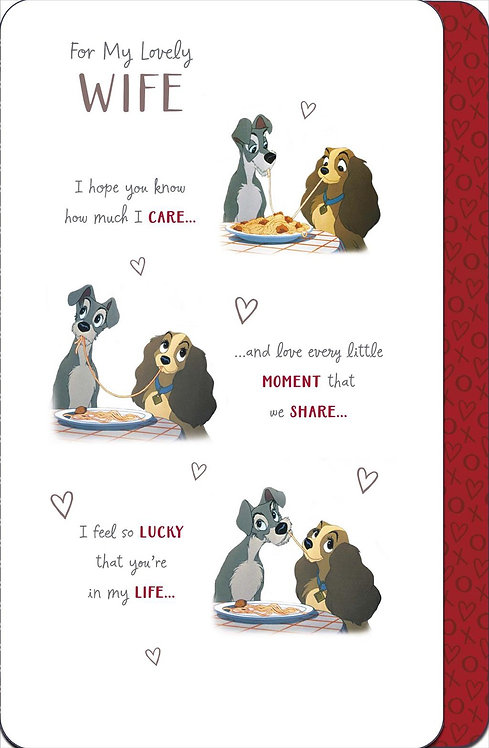 For My Lovely Wife Birthday Card