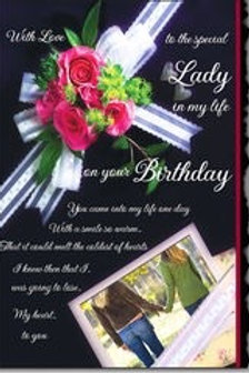 LGBT Cards Special Lady Birthday Female Couple