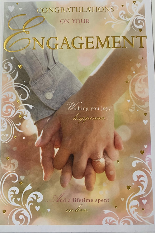 Congratulations On your Engagement Card FREE POSTAGE
