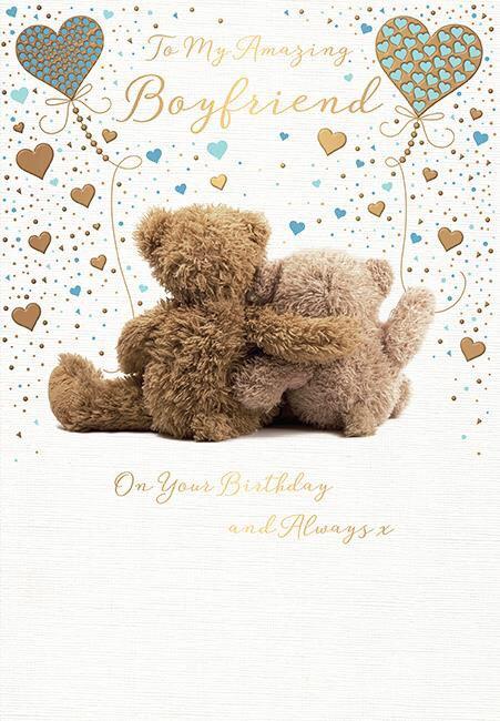 Boyfriend Birthday Card