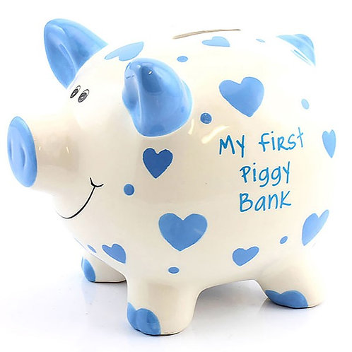My First Money Pig Money Bank Available in Pink/Blue