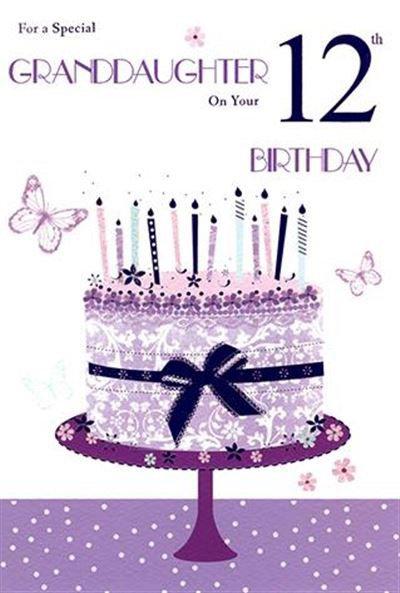 Granddaughter 12th Birthday CRd