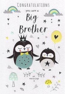 Congratulations you are a Big Brother