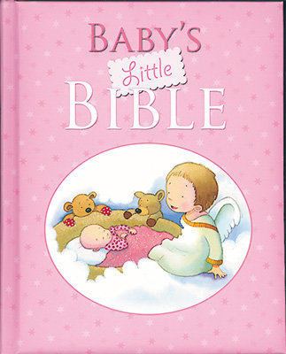 Baby's Little Bible Available in Blue Or Pink