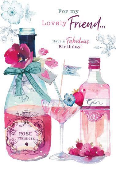 Female Friend Birthday Card