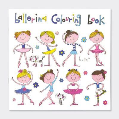 Ballerina Colouring Book