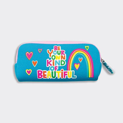 Rachel Ellen Neoprene Pencil Case BE YOUR OWN KIND OF BEAUTIFUL