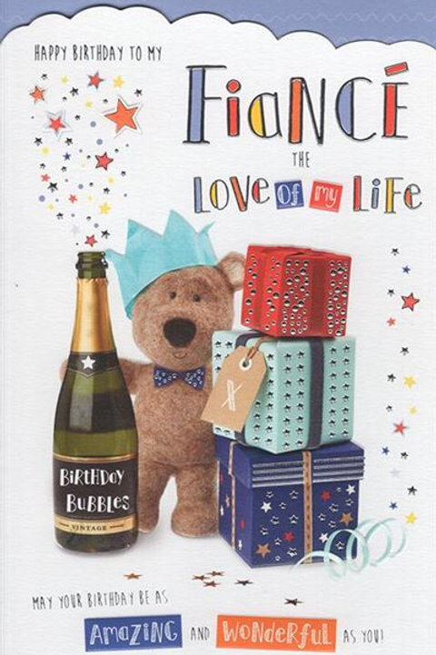 Fiancé Birthday Card