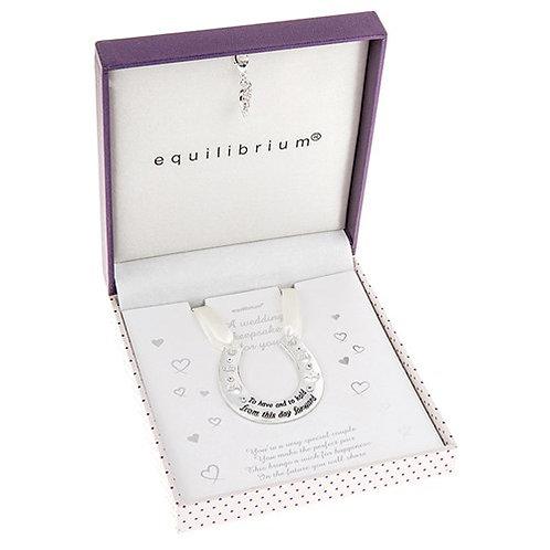 Equilibrium Wedding Horseshoe Keepsake In Presentation Boxed