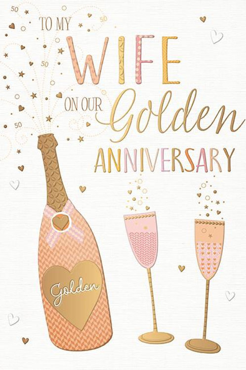 To my wife on our Golden Anniversary by Words & Wishes