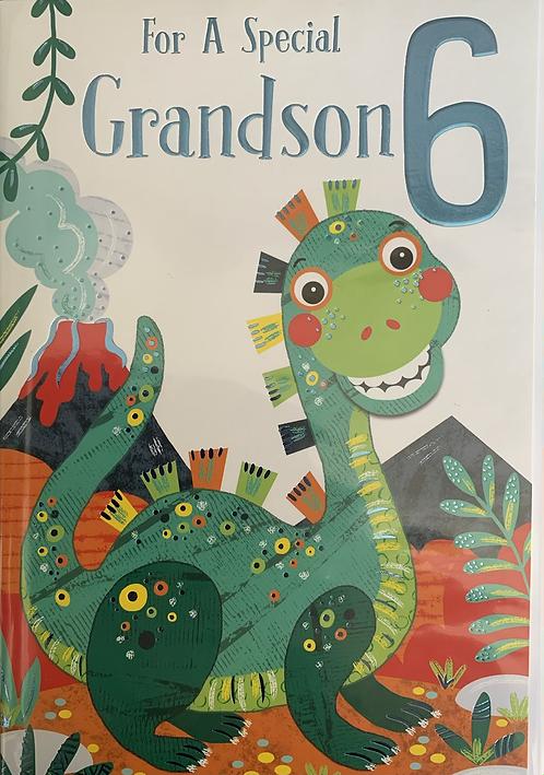 For a special Grandson 6